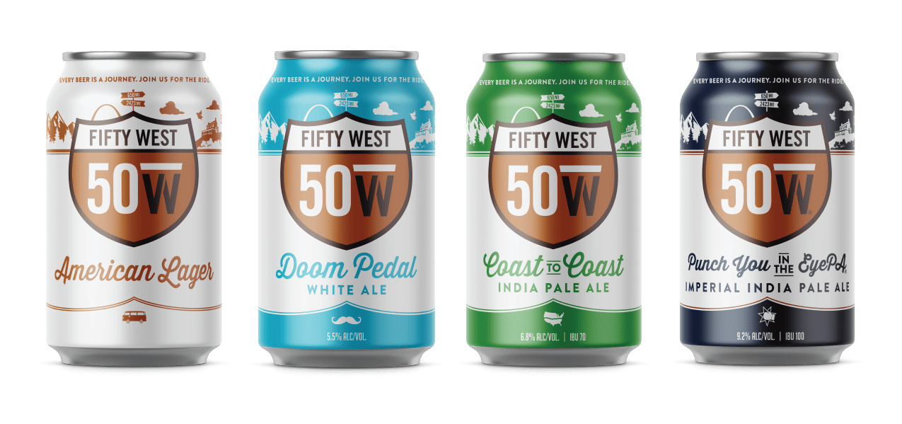 Beers - Fifty West Brewing Company